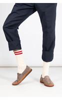 RoToTo Sock / Low Raw / Ecru - Red
