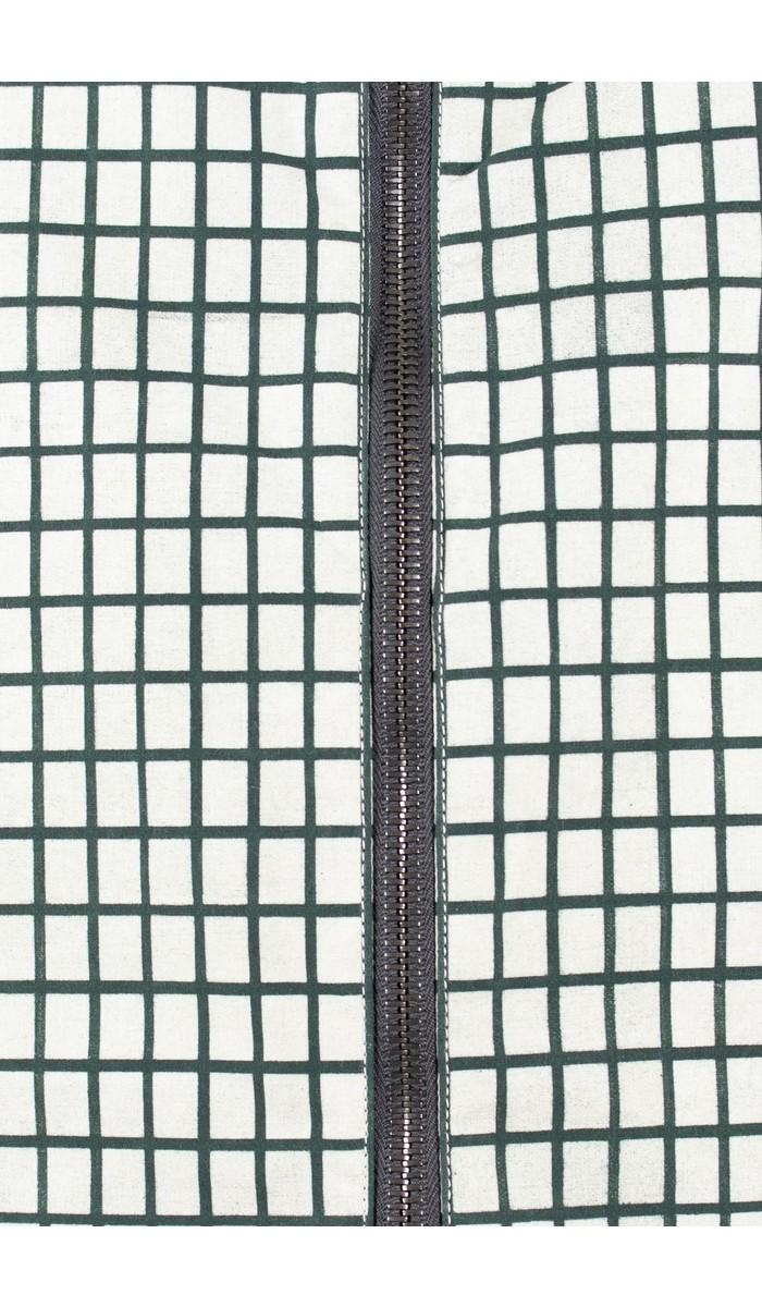 Lamler Lamler Jas / Atlantic Shell Mini Grid / Wit