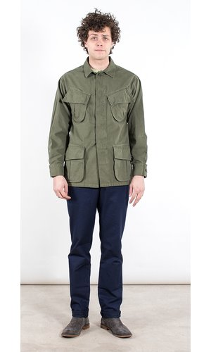 Portuguese Flannel Portuguese Flannel Jacket / Tropical Jacket / Green