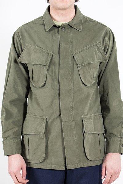 Portuguese Flannel Portuguese Flannel Jack / Tropical Jacket / Groen