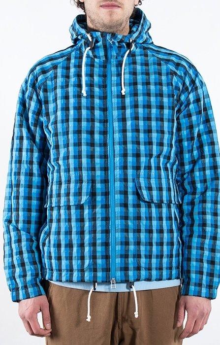 Universal Works Universal Works Jack / Hooded windbreaker / Blauw