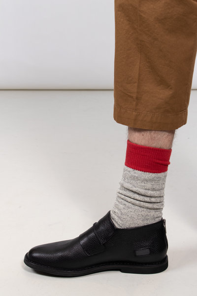 RoToTo RoToTo Sock / Double Face / Red