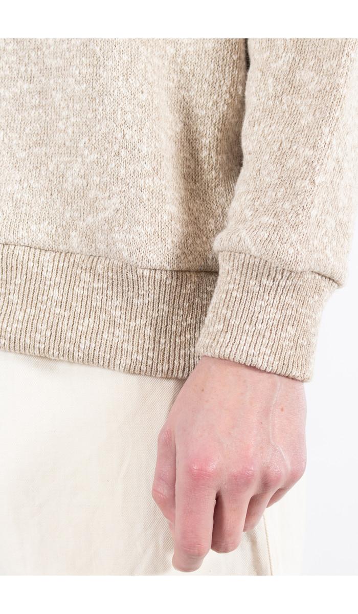 Universal Works Universal Works Sweater / Oversized Lincot Knit / Ecru