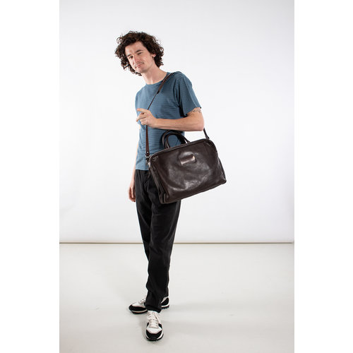 Property of.. Property of.. Shoulder bag / 5103 Cedric / Brown