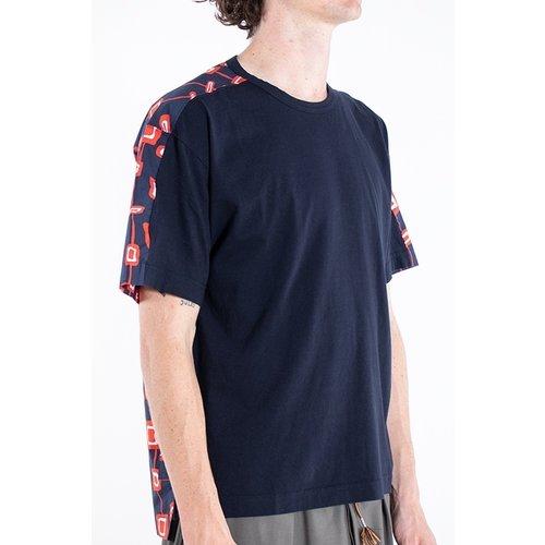 Marni Marni T-shirt / HUMU0009Q0 / Navy / 50