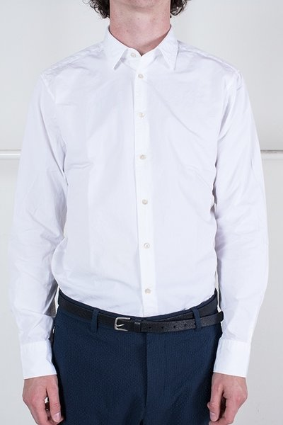 7d 7d Shirt / Fourty-Four Solid Pop / White