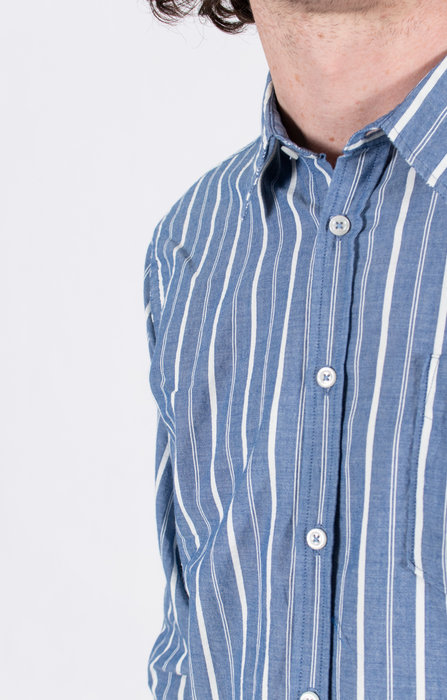 Universal Works Universal Works Shirt / New Standard / Indigo