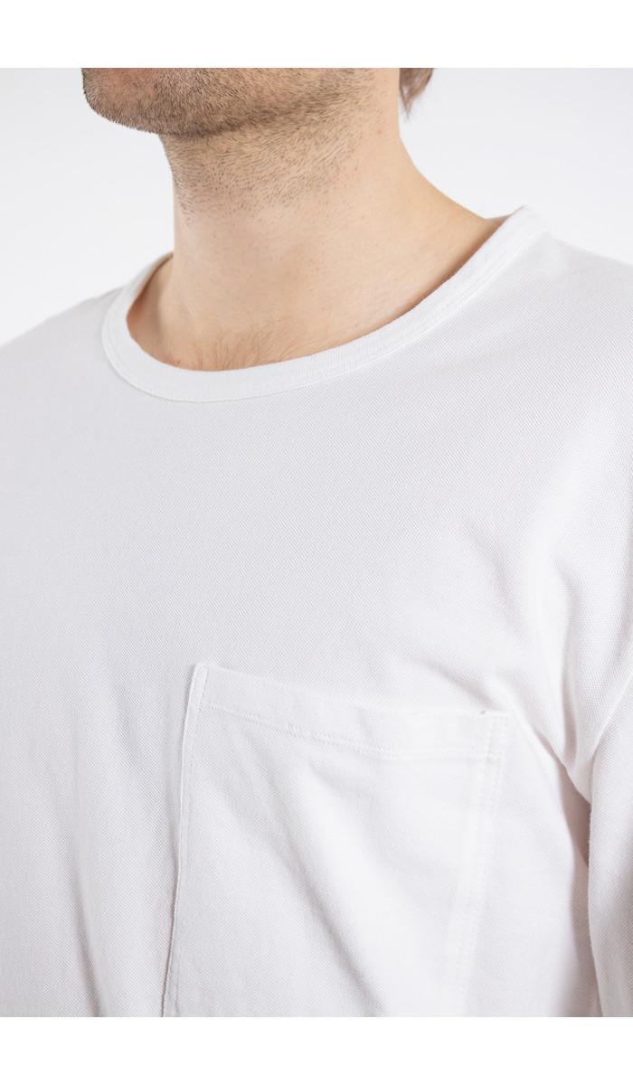 7d 7d T-shirt / Seventy-Seven / Wit