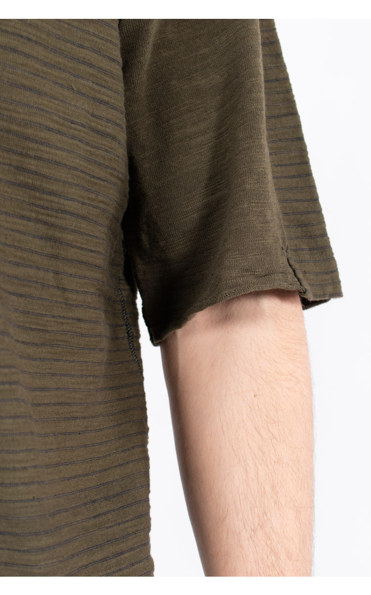 Transit Transit T-Shirt / CFUTRK4390 / Dark Green