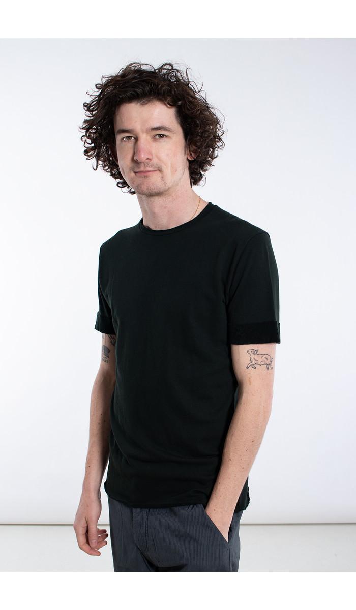 Hannes Roether Hannes Roether T-shirt / Piaf / Donkergroen