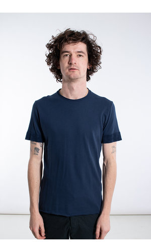 Hannes Roether Hannes Roether T-Shirt / Piaf / Blauw