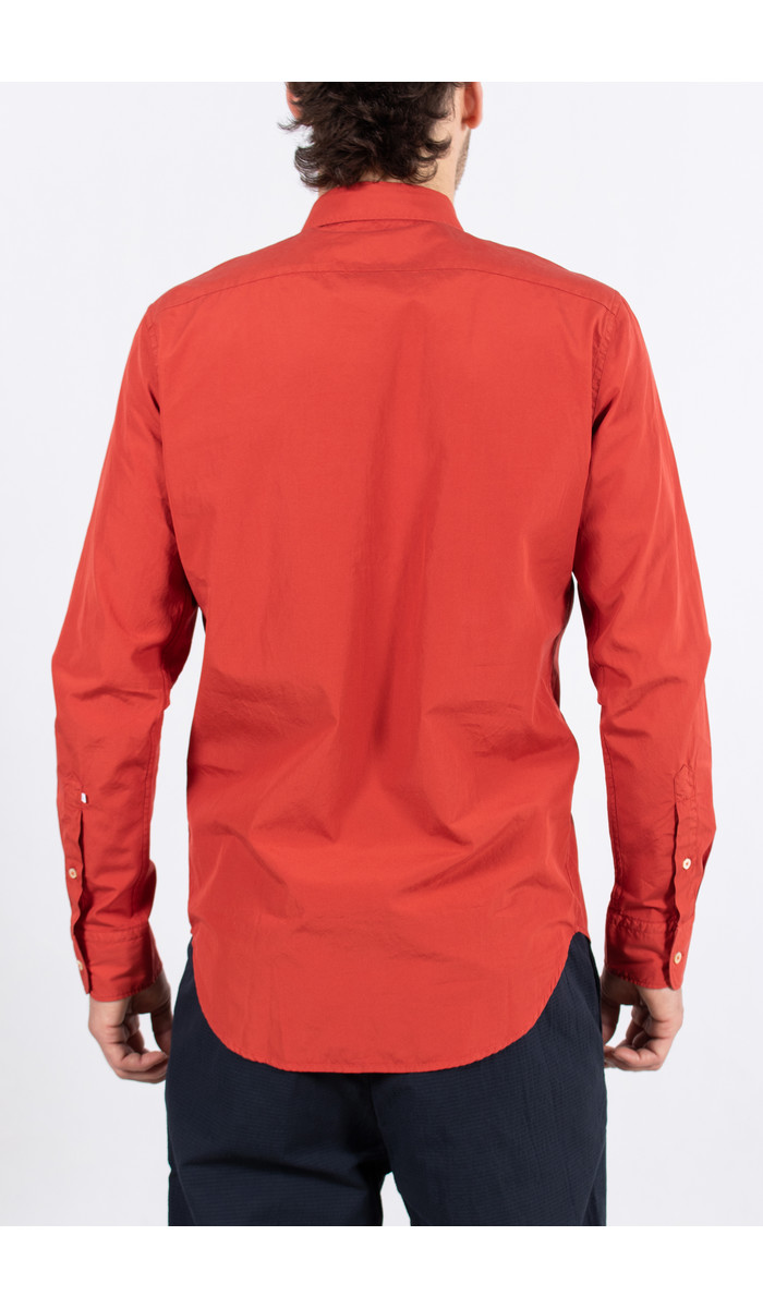 7d 7d Overhemd / Fourty-Four / Rood