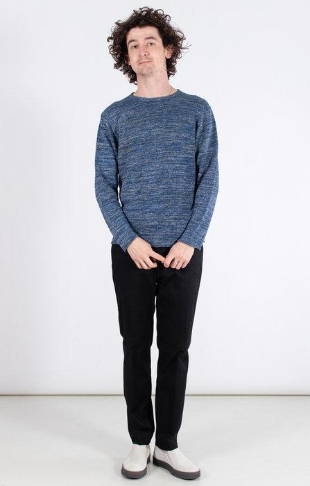 Inis Meain Inis Meáin Sweater / S1509 / Blue Melange