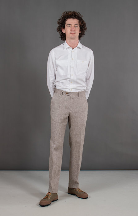 British House Trousers / Kenny / Brown
