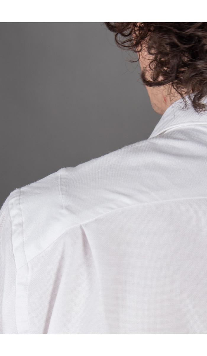 Delikatessen Delikatessen Overhemd / Farmer Shirt / Wit