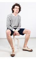 Homecore Sweater / These Sweat / Grey stripes