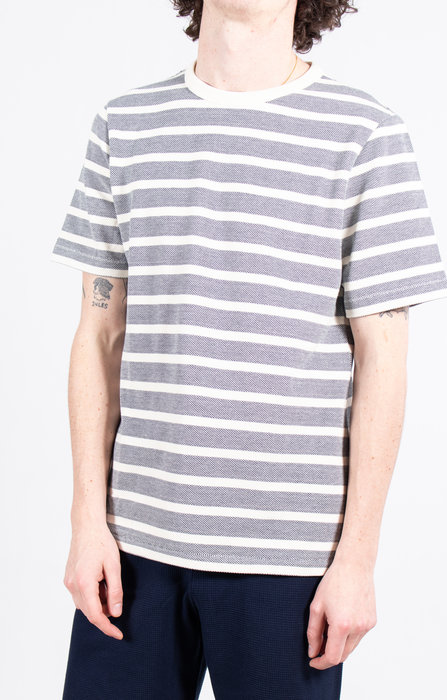 Homecore Homecore T-Shirt / Rudy All Over / Grey stripes