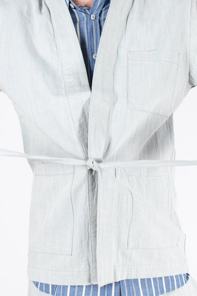 Universal Works Universal Works Overshirt / The Front Jacket / Lichtblauw