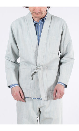 Universal Works Universal Works Overshirt / The Front Jacket / Lichtblauw