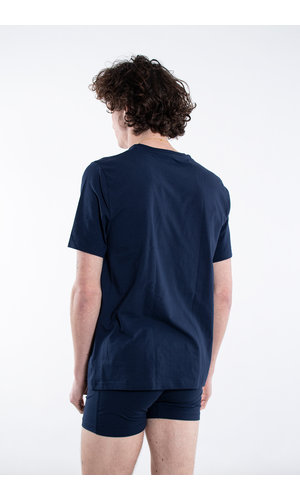 Organic Basics Organic Basics T-shirt / Biologisch Katoen / Navy