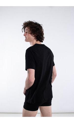 Organic Basics Organic Basics T-shirt / Biologisch Katoen / Zwart