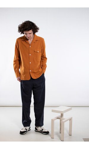 Delikatessen Delikatessen Shirt / Overshirt / Orange