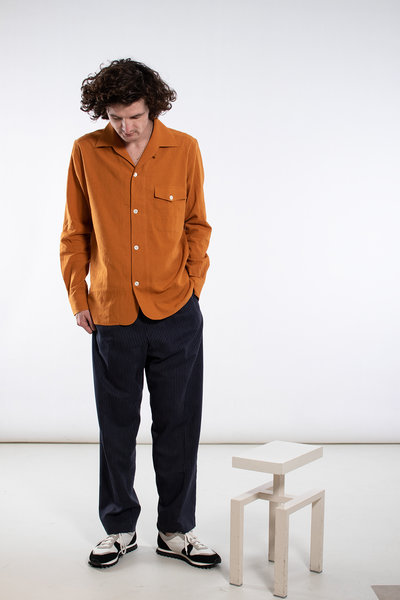 Delikatessen Delikatessen Overhemd / Overshirt / Oranje