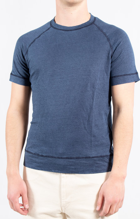 Majestic Filatures Majestic Filatures T-Shirt / M500 / Marine Blauw