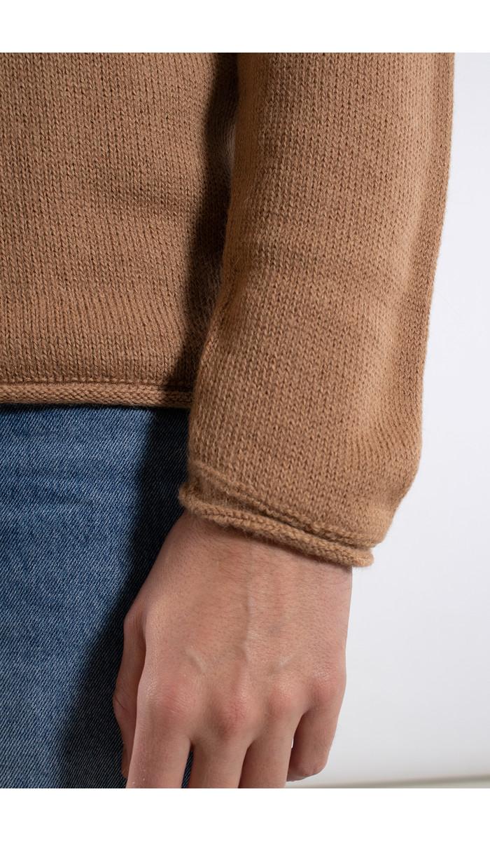 Inis Meain Inis Meán Sweater / Boiled Alpaca / Brown