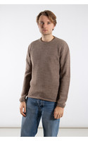 Inis Meán Sweater / Boiled Alpaca / Grey brown