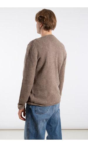 Inis Meain Inis Meán Sweater / Boiled Alpaca / Grey brown