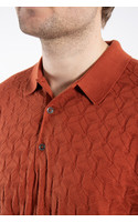 John Smedley Polo / Forestry / Orange
