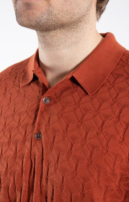 John Smedley John Smedley Polo / Forestry / Orange
