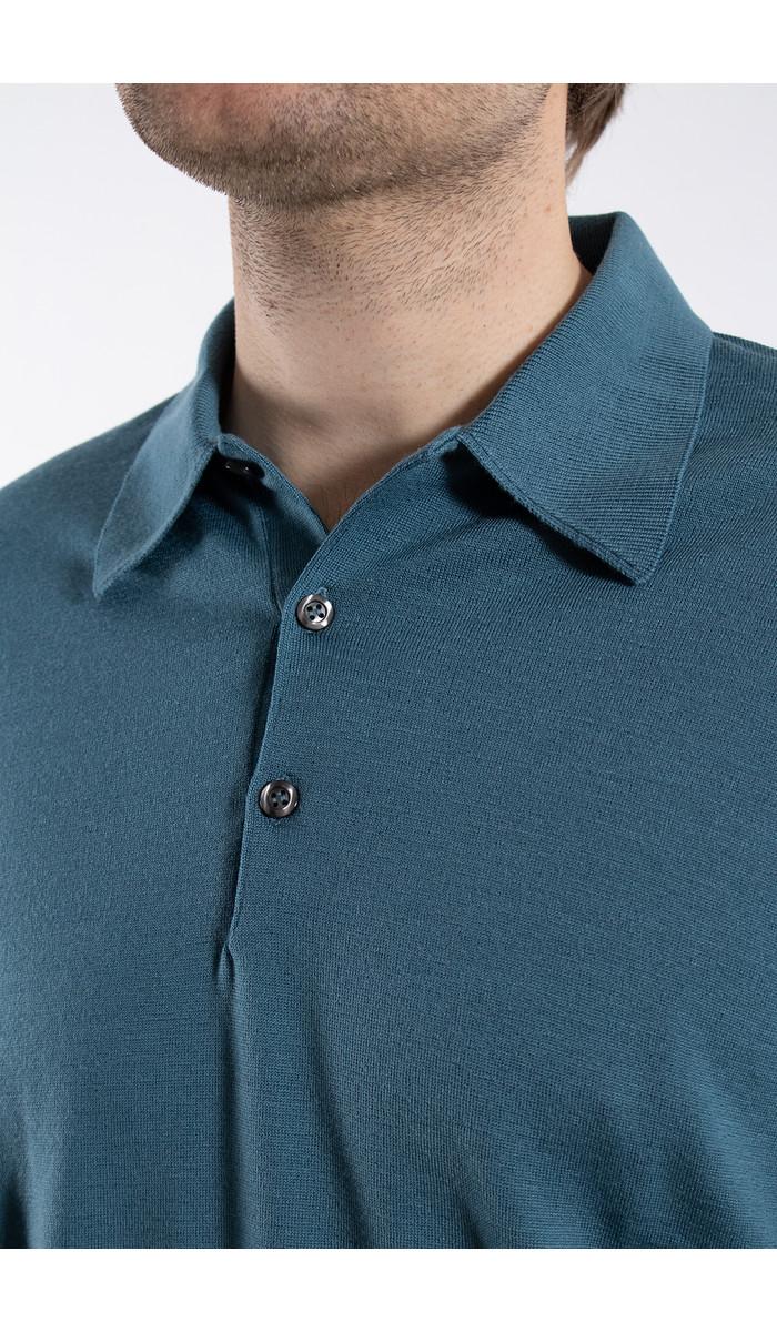 John Smedley John Smedley Polo / Dorset / Light blue