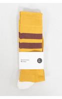 Universal Works Sok / Sport Sock / Geel Bruin