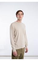 Universal Works T-Shirt / Loose Pullover / Ecru