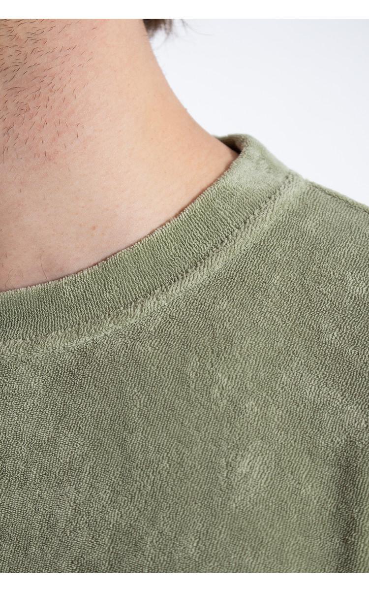 Universal Works Universal Works Trui / Loose Pullover / Groen