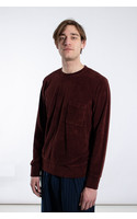 Universal Works Trui / Loose Pullover / Bordeaux