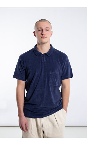 Universal Works Universal Works Polo / Vacation Polo / Navy