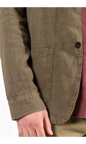 Portuguese Flannel Portuguese Flannel Jas / Labura / Groen
