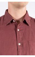 Portuguese Flannel Shirt / Linnen / Wine