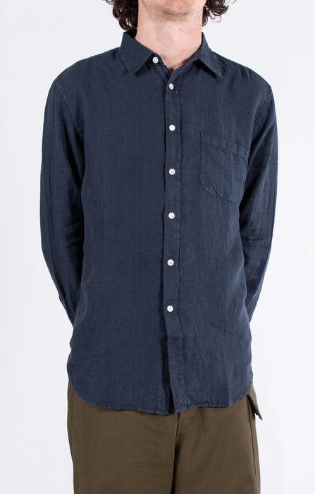 Portuguese Flannel Portuguese Flannel Overhemd / Linnen / Navy