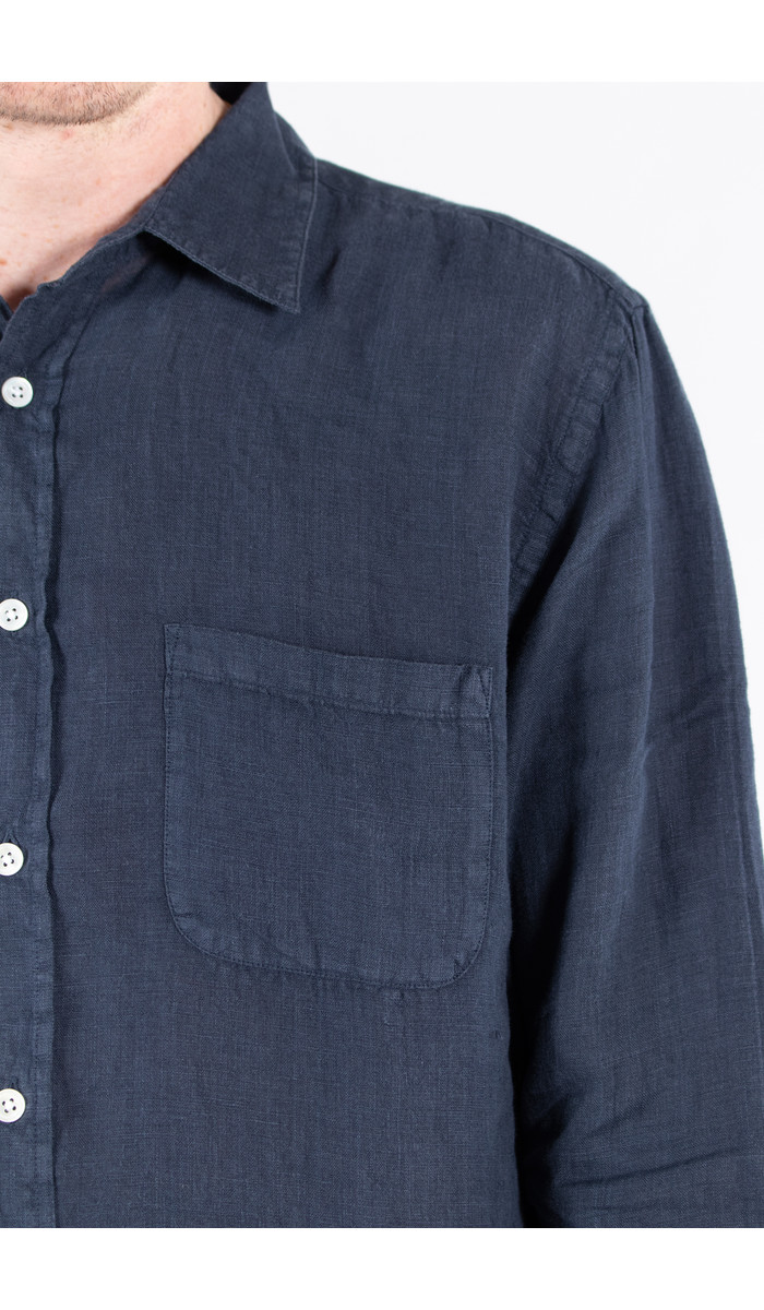 Portuguese Flannel Portuguese Flannel Overhemd / Linnen / Navy