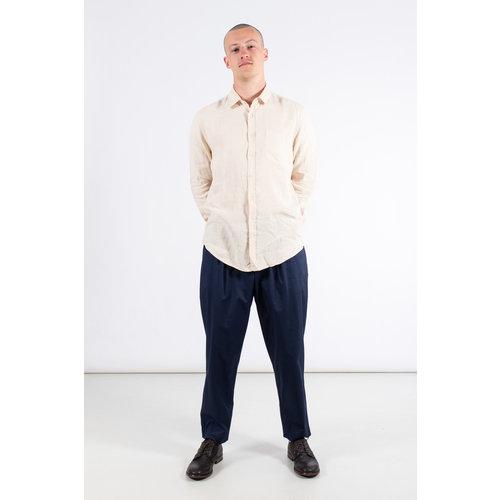 Portuguese Flannel Portuguese Flannel Overhemd / Linnen / Natuur
