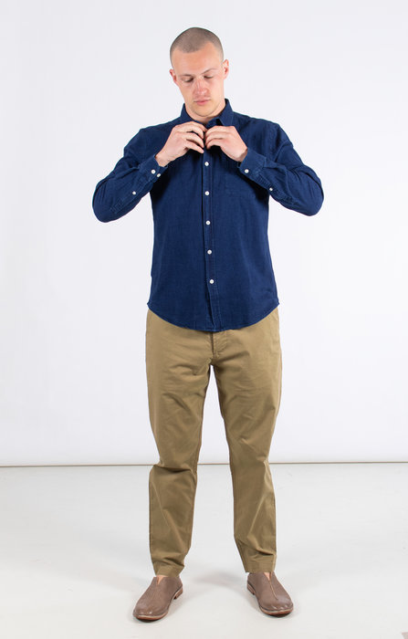 Portuguese Flannel Portuguese Flannel Overhemd / Denim shirt / Indigo