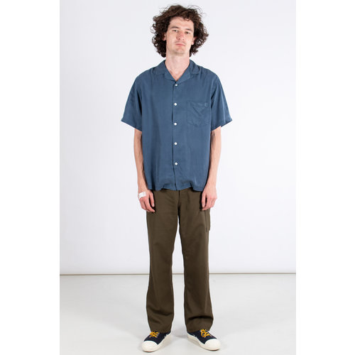 Portuguese Flannel Portuguese Flannel Overhemd / Dogtown / Blauw