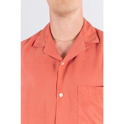 Portuguese Flannel Portuguese Flannel Overhemd / Dogtown / Rood Oranje