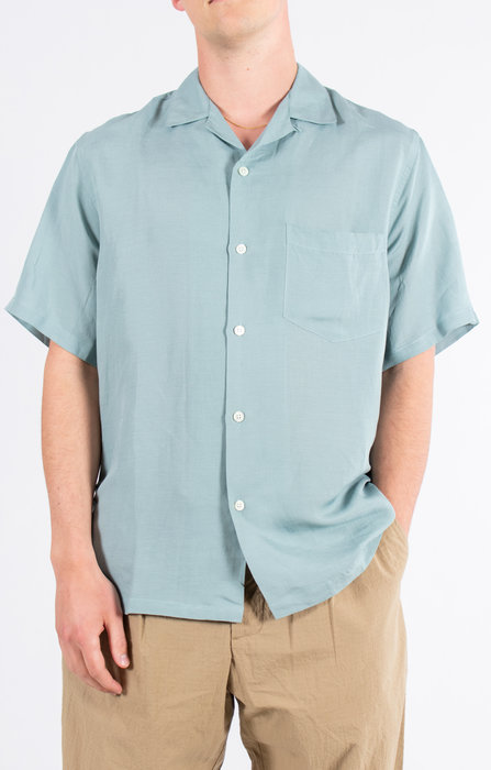 Portuguese Flannel Portuguese Flannel Shirt / Cattown / Minty Green