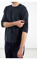 Roberto Collina T-Shirt / RC68001 / Blauw Zwart