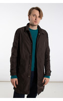 Tiger of Sweden Overcoat / Brygge / Chocolate Brown